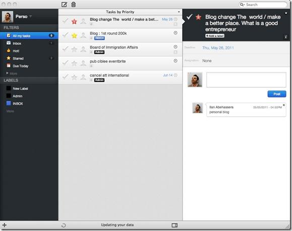 Producteed Native App | Producteev Mac App
