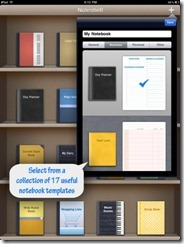 Noteshelf Notebook Templates