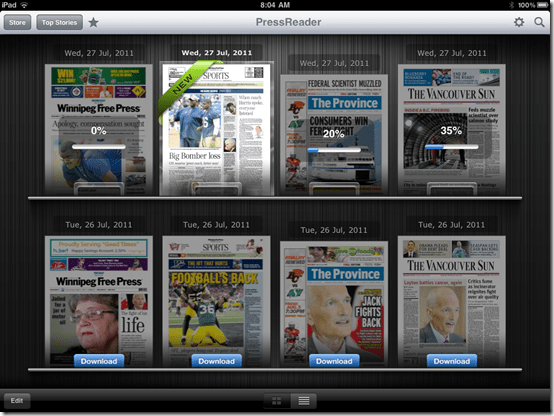 PressReader Downloads Full Newspapers to Your Device | 40Tech