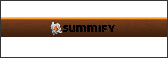 Summify Cuts through the Chatter, Helps You Get The Real Goods From Your Social Streams | 40Tech