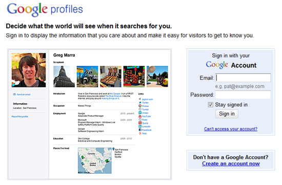 Safely Share Your Email Address by Sharing Your Google Profile, Google+ Profile | 40Tech