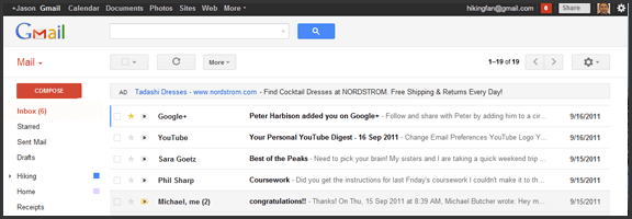 Gmail Has a New Look -- And Almost Has An Official iPhone App | 40Tech