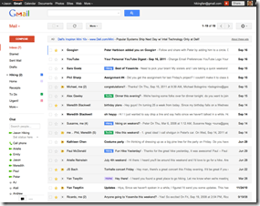 New Gmail Comfortable Setting
