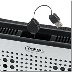 LapGuard Lapdesk with Retractable USB Cable | Digital Innovations