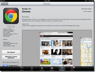 Google Chrome for iPad | 40Tech