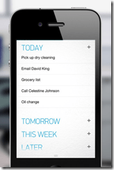 Any.DO Task Manage App for iPhone