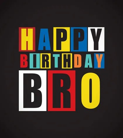 birthday greetings for brother