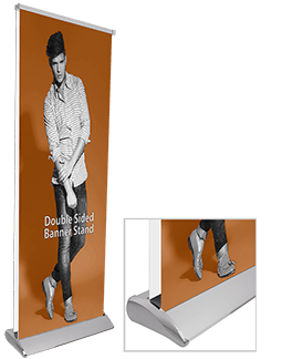Elite Double-Sided 33 Banner Stand