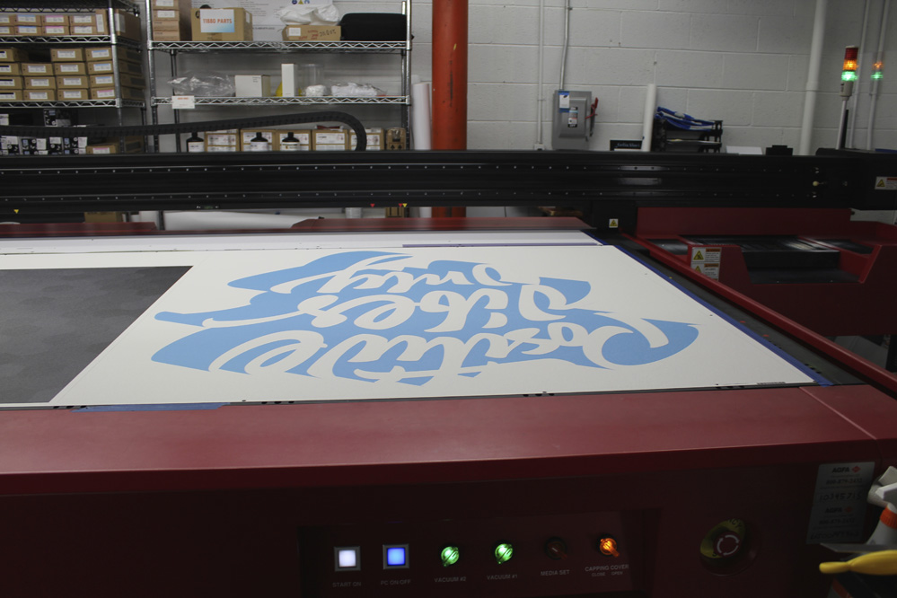 Printed Wall Wrap with Contour Cut