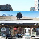 Printed billboard of Apple World Gallery Image