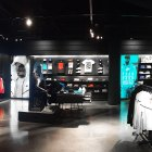 Frameless Backlit Fabric Signage In Nike Stores