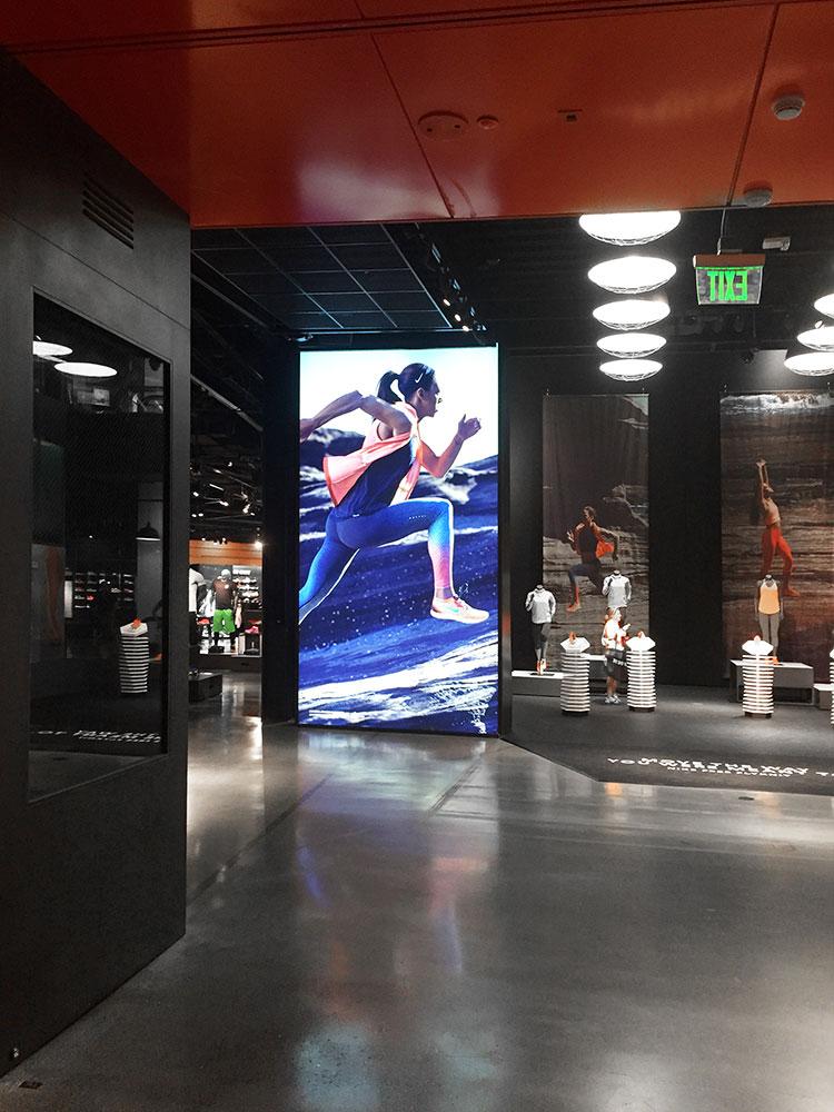 Nike Backlit Fabric Frameless Graphic