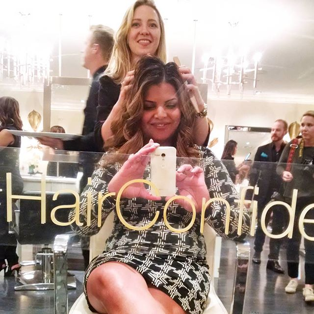 Dove Mirror Cling Salon Event HairConfidence