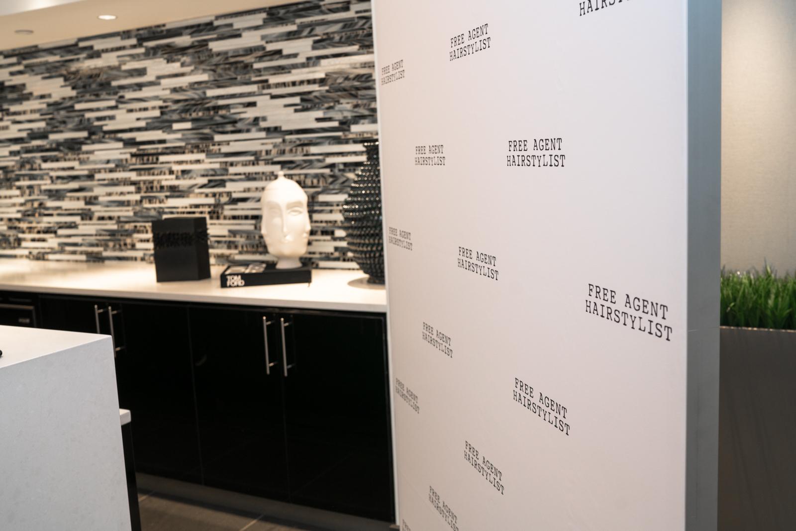 Selfie SEG fabric printing tension self-standing frames framing backdrop wall
