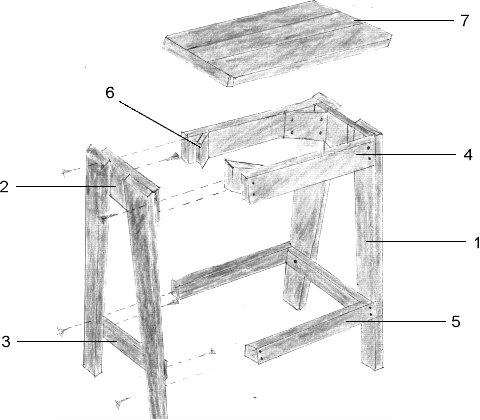 Free Baby Cradle Building Plans, Stool Designs In Wood