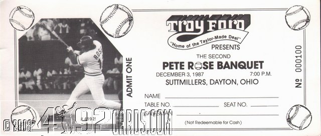 Pete Rose Collector Publications