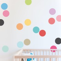 Confetti Wall Sticker Dots & Decals for Nursery
