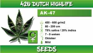 420 Dutch Highlife AK 47