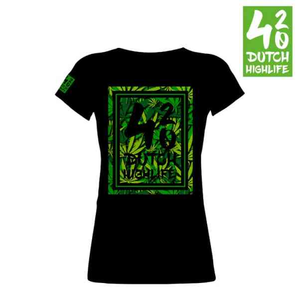 T-shirt 420 dutch highlife