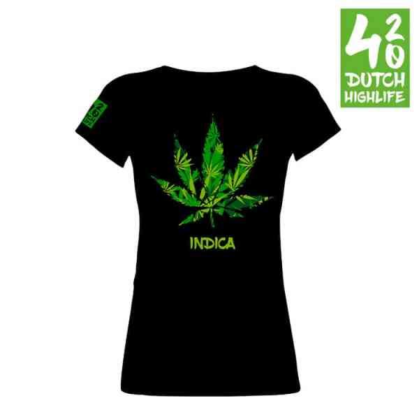T-shirt Indica dames voorkant