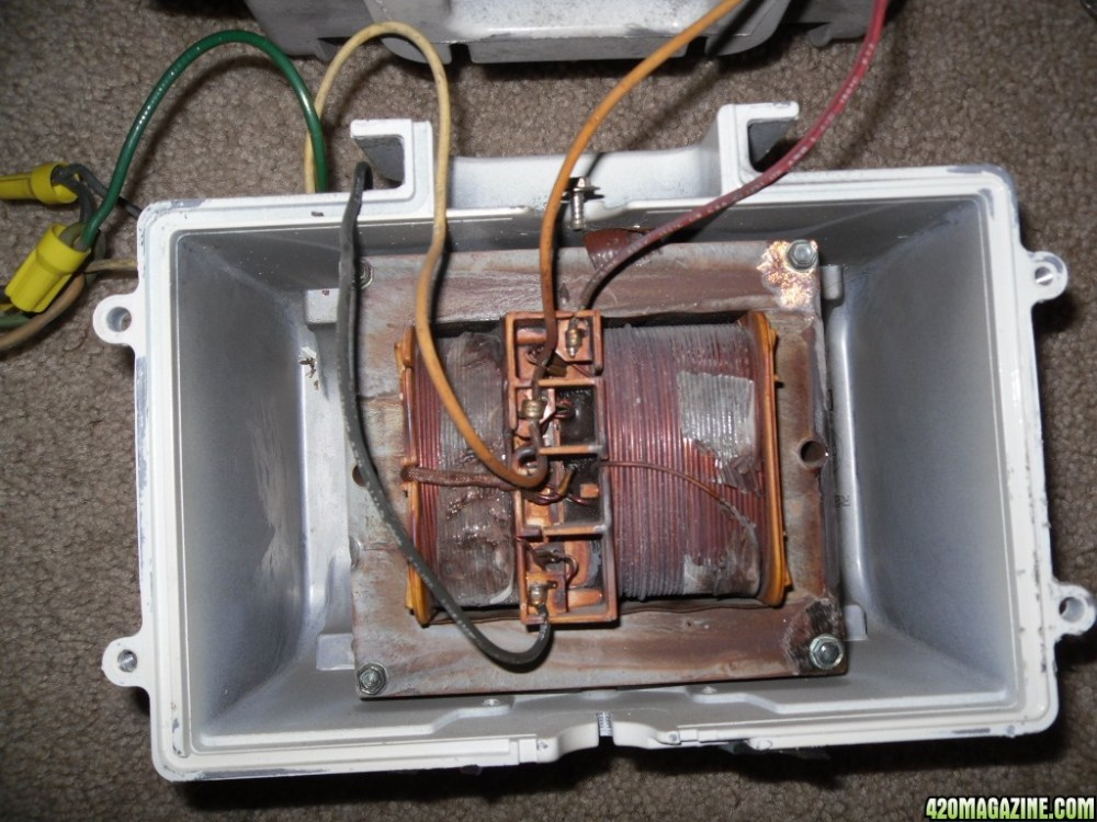 medium resolution of  013325 wiring help 277 volt industrial 400 watt mh 100 watt metal halide wiring diagram at
