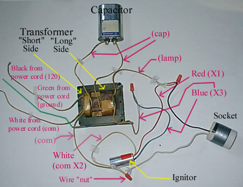 hps wiring diagram with capacitor relay light bar how can i build my own or mh system 420 magazine the pictures that go post