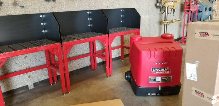 Custom Highschool/College Welding Tables