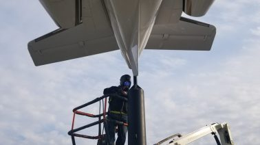 SC Aviation Plane on Sticks