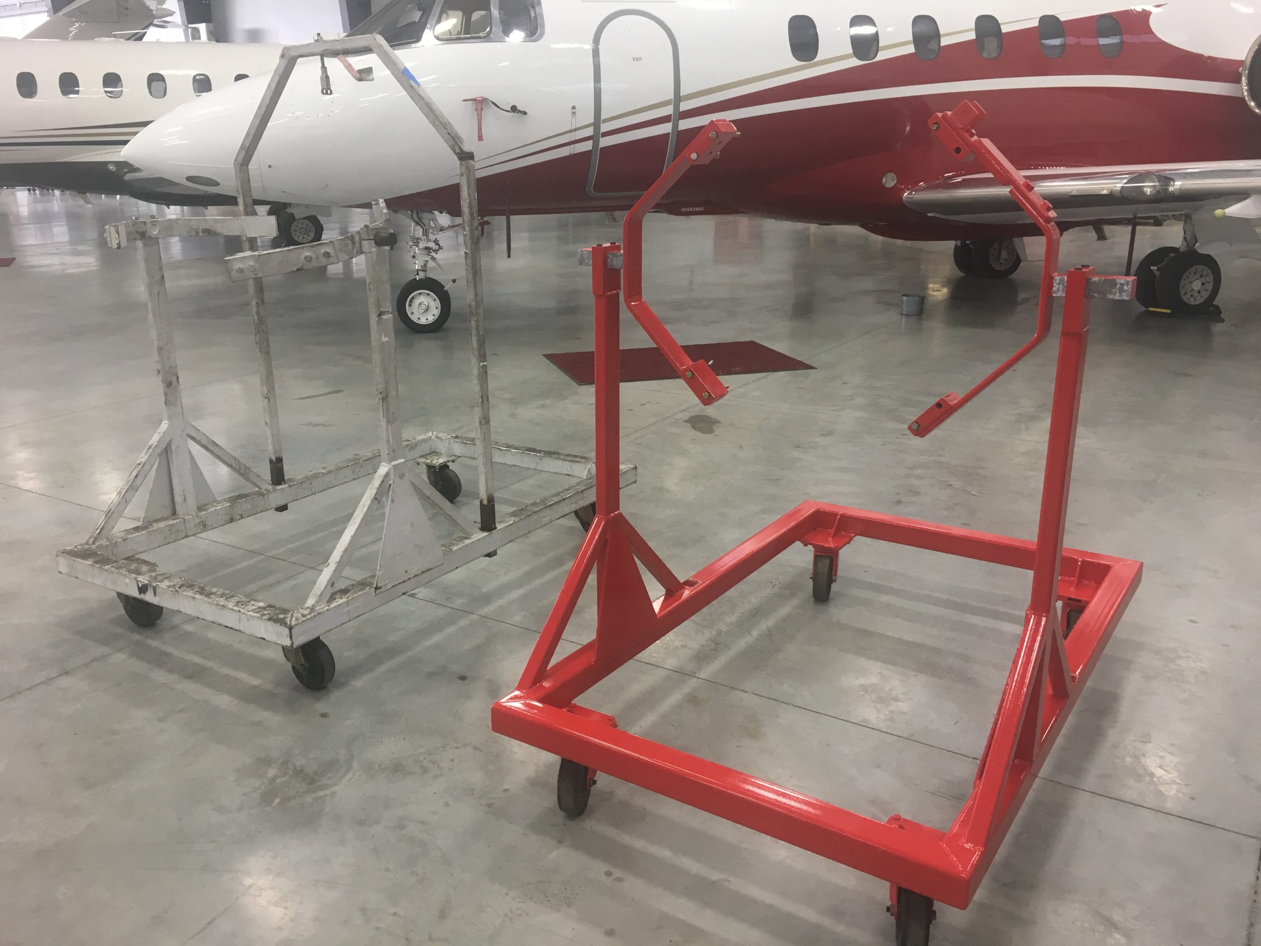 Engine Stand for Hawker Jet