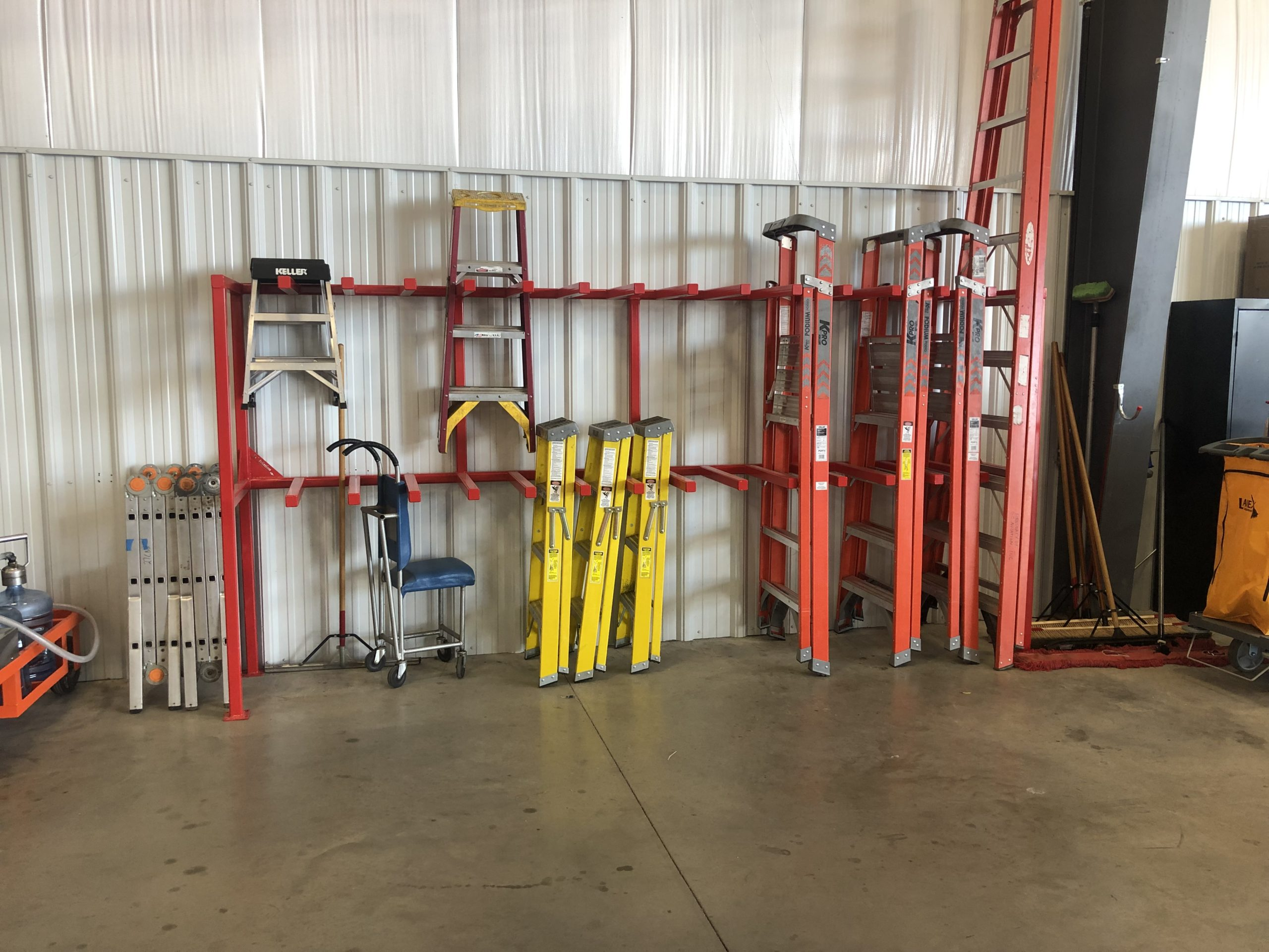 Aviation Ladder Rack