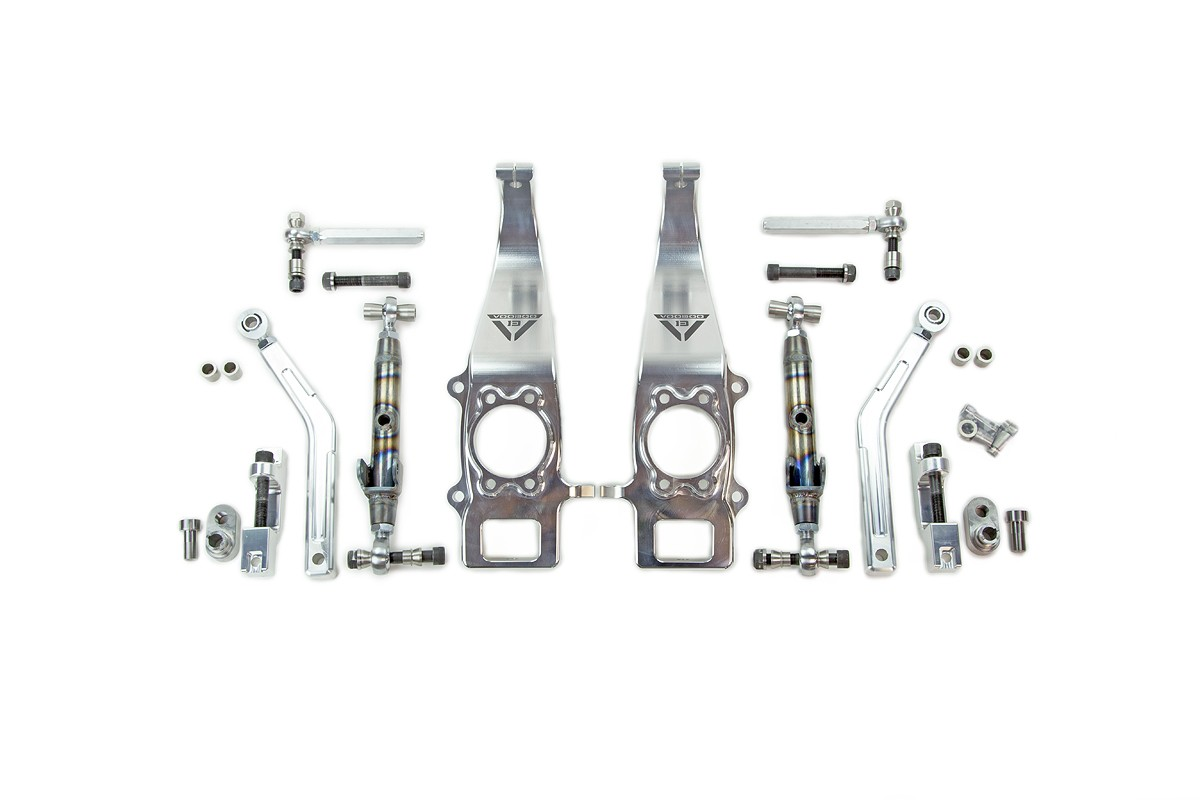 Voodoo 13 Angle Kit (Front) for 2009-2014 Nissan 370z