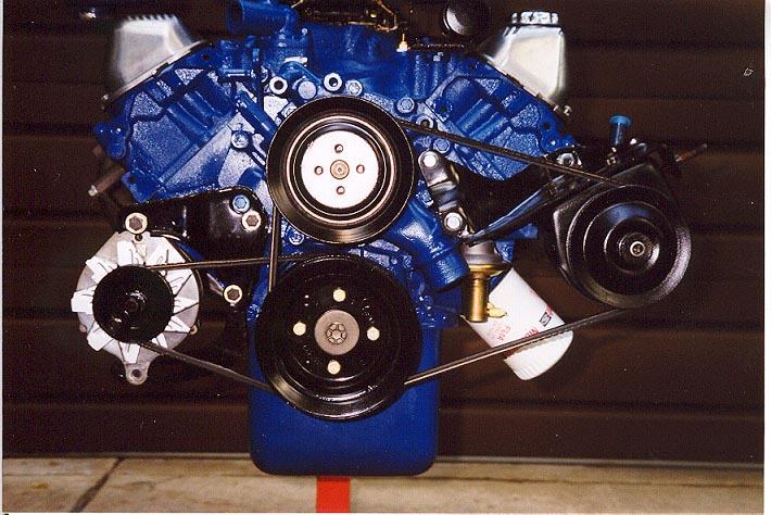 390 Ford Engine Diagram Pulleys Belts