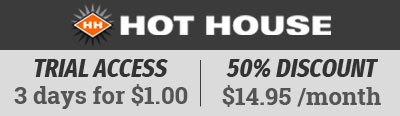 Exclusive offer from Hot House