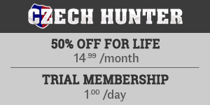 50% OFF at Czech Hunter