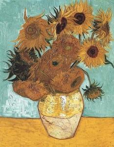 Zonnebloemen - Vincent van Gogh (Arles, 1888) - olieverf op doek