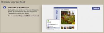 Instagram feed tab voor Facebook fanpage