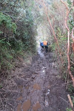 So much mud.