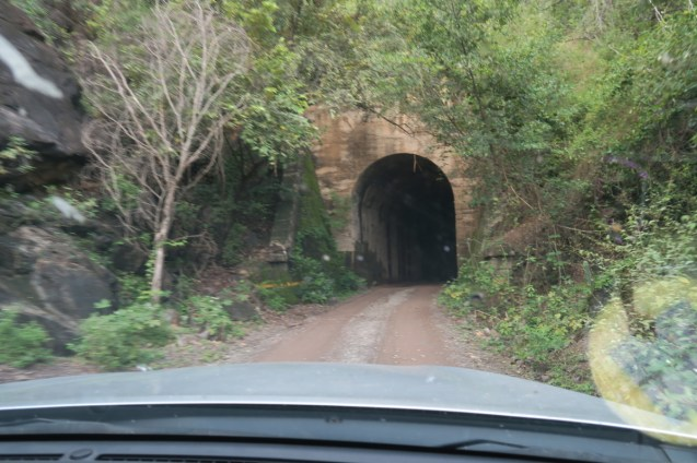 Step one of getting the Tatacoa was driving through this tunnel.