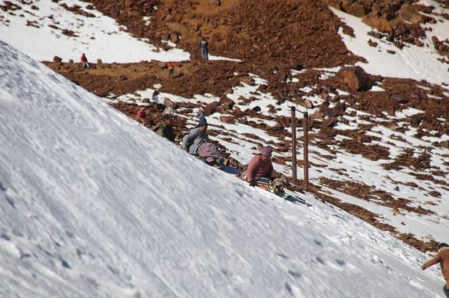 Family fun on former ski slopes.