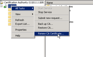 Adding an Active Directory CA Certificate to Tintri OS