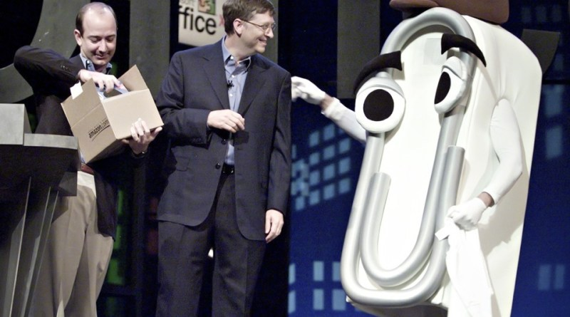 Clippy & Bill Gates