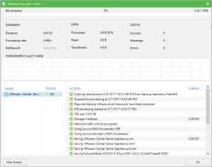 Setting Up Veeam Cloud Connect – Client Side