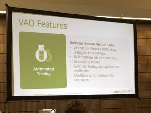 VAO Features