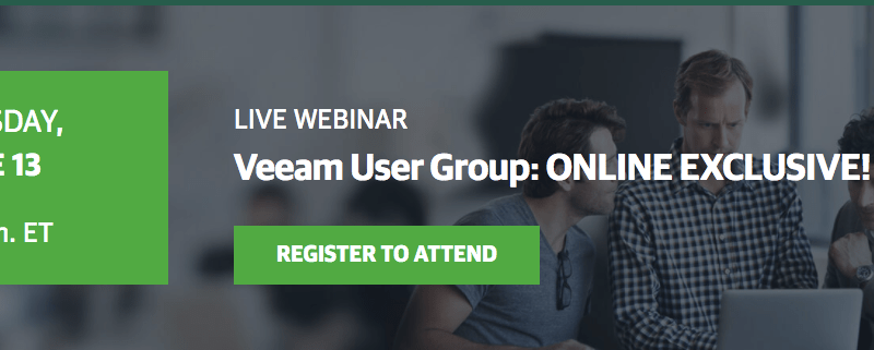 Veeam Online User Group