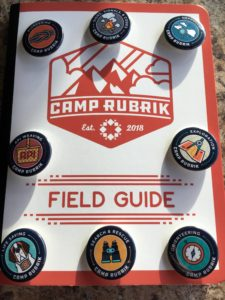 Camp Rubrik - Field Guide & Pins
