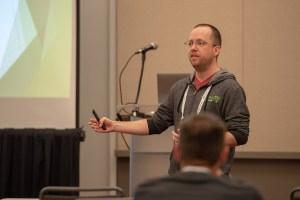 Presenting at the PGHVMUG