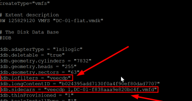VMDK Descriptor