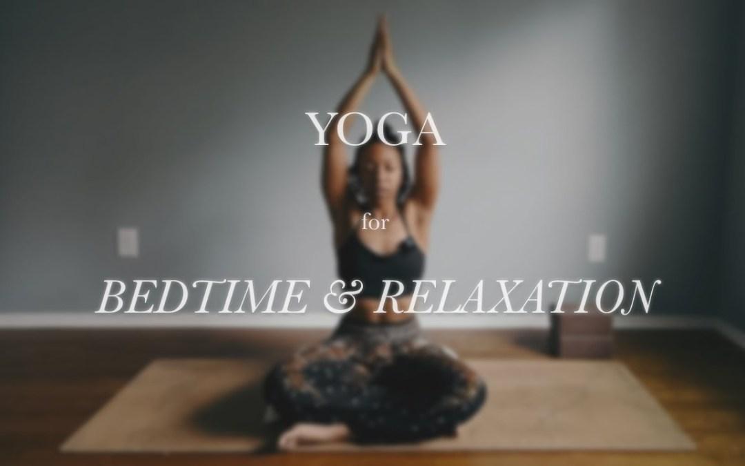 Yoga for BEDTIME & RELAXATION | Nadi Sodhana Breath | 20 MIN