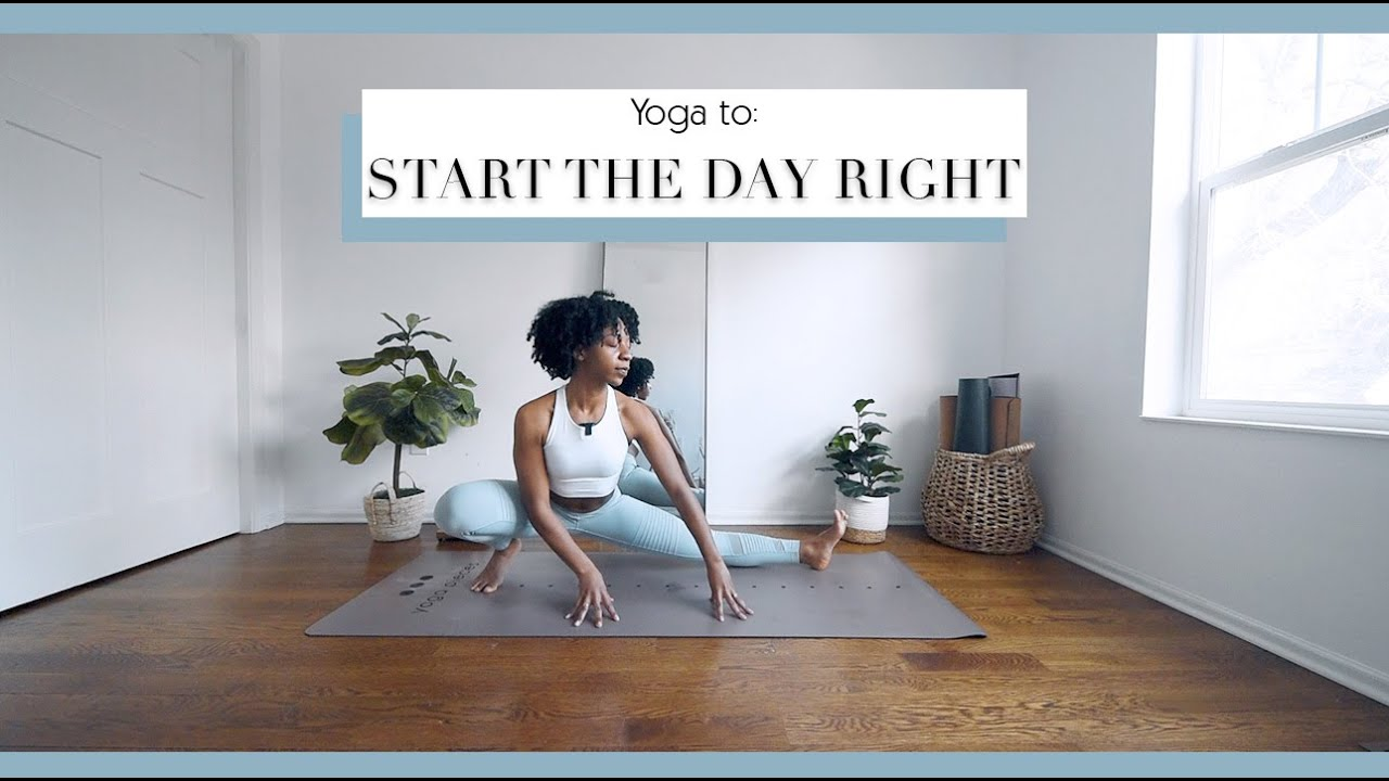 20 Min Full Body Yoga to START THE DAY ⭐️ | Bright and Salted Yoga
