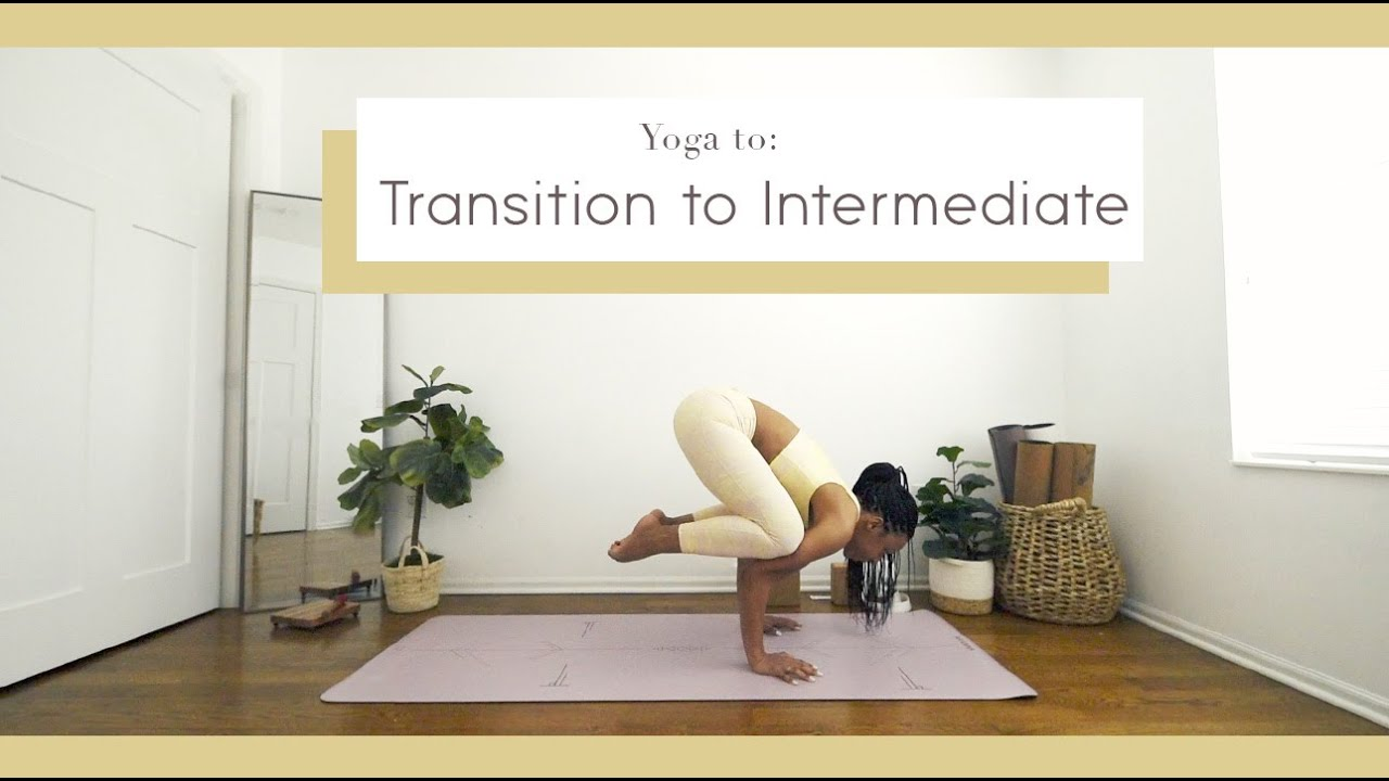 50 MIN | Yoga to TRANSITION from BEGINNER ⭐️  to INTERMEDIATE  *Full Body* Crow/Splits/Wheel